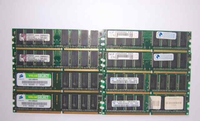 Память DDR1 256 Mb PC2100-3200 Samsung Hynix