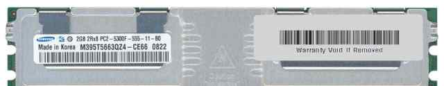 Samsung M395T5663QZ4-CE66 240P-FB-DDR2-2GB-PC5300
