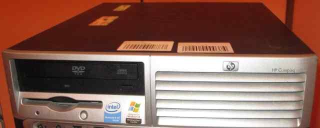Сист блок HP Compaq dc7600 Pentium 4 2800/512/80Gb