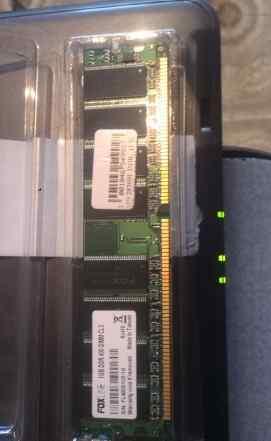 Оперативная память DDR 1 Gb, новая