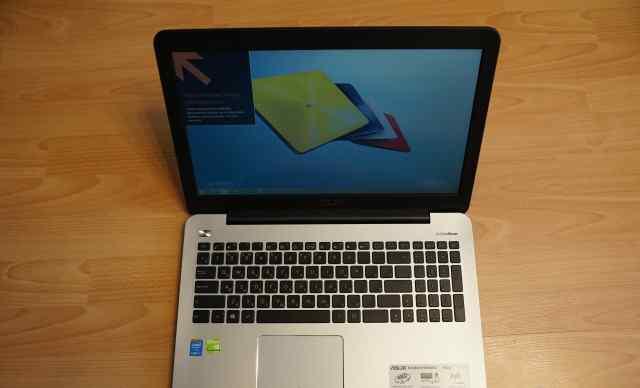 Ноутбук asus K555 Core i5-4210/8Gb/750Gb/DVD