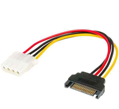 Переходник питания SATA на 4-pin Molex