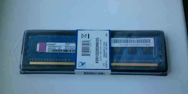 Kingston DDR3 2 GB (2 планки)