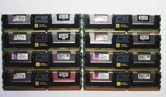 Cерверная память Kingston fbdimm 4Gb PC2-5300F