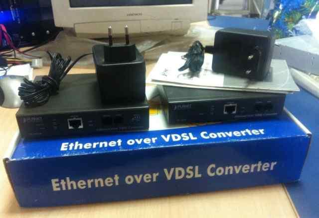 Ethernet over vdsl converter Planet VC-102
