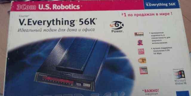 Модем U. S. RoboticsEverything 56K