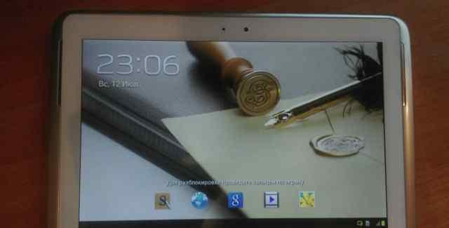 Samsung galaxy note 10.1 n8000 16GB+ 3G