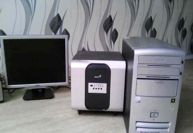 Продажа системный блок, монитор, колонки