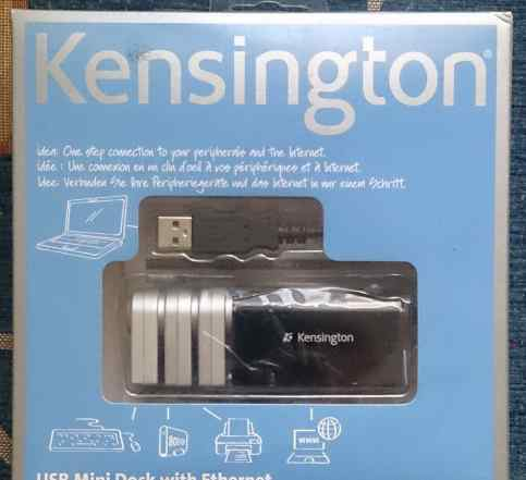 Kensington USB Mini Dock with Ethernet (K33929EU)