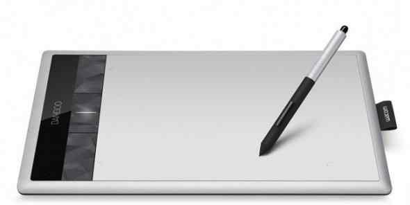 Графический планшет Wacom Bamboo pentouch Medium