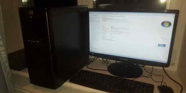 Компьютер вдохновленный Intel Core I5 (+ 1.5Гб HDD