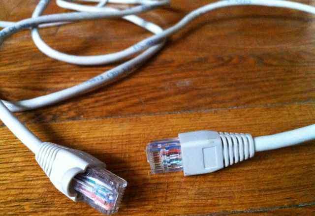Провод с разъемами RJ 45 для интернета