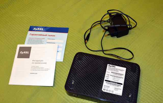 Модем-роутер zyxel P660HN Lite EE
