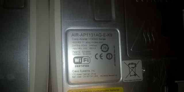 Wi-Fi-точка доступа Cisco AIR-AP1131AG-E-K9