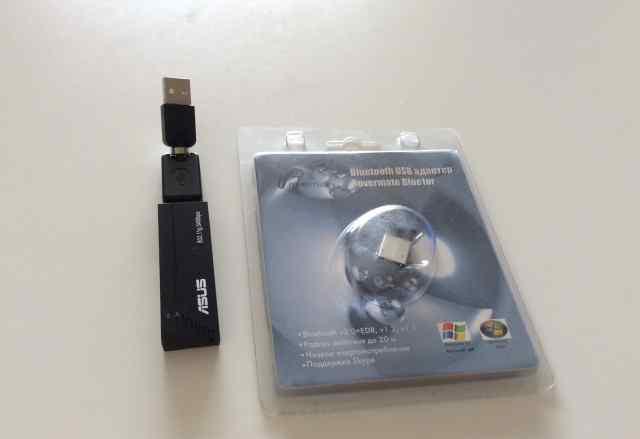 Wi-fi адаптер Asus+ bluetooth адаптер