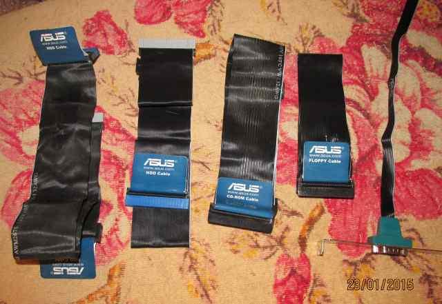 Кабели для подключения жестких дисков и флоппи