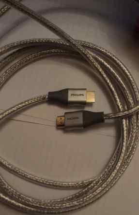 Высокоскоростной кабель Philips hdmi