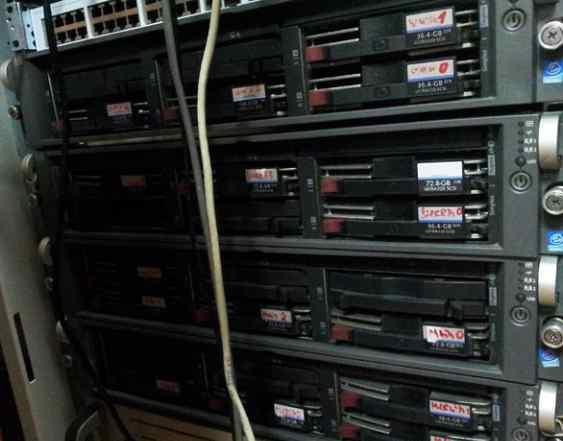 Сервер HP Proliant DL380 G3