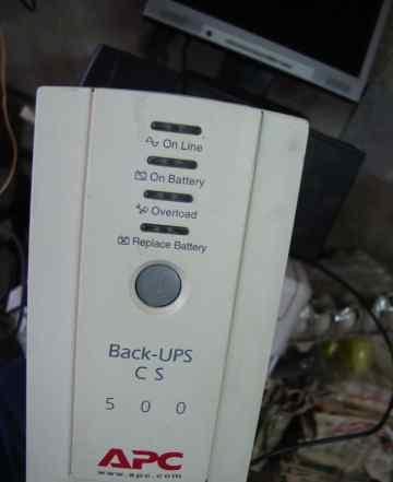 ��� Back UPS CS 500