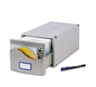 Бокс для CD/DVD дисков ProfiOffice мв-200 SL
