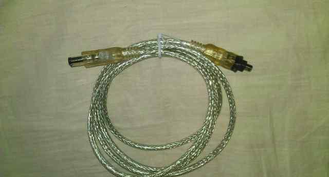 Кабель Fire Wire ieee-1394 6P-6P 1.8m