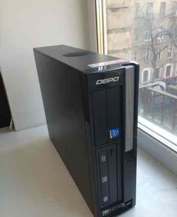 Компьютер Depo 2 ядра 2 гига