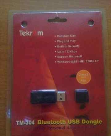 Bluetooth адаптер USB Dongle Tekram TM-304