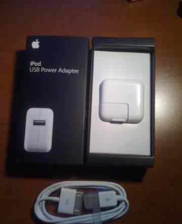 Зарядное устройство Apple для iPod или iPhone