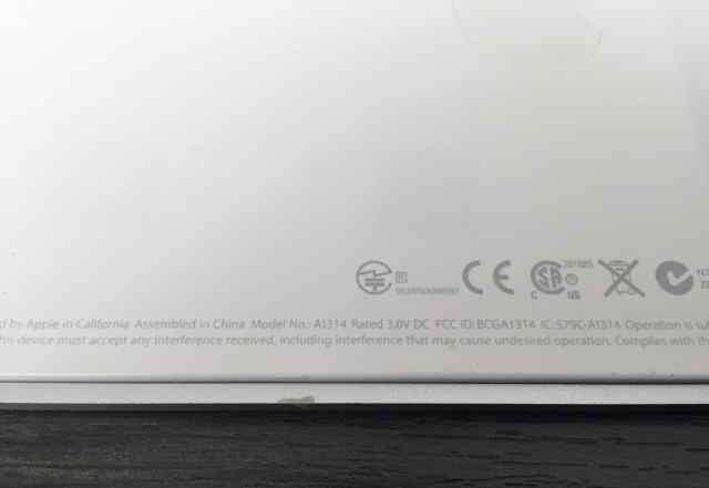 Apple keyboard A1314 rus