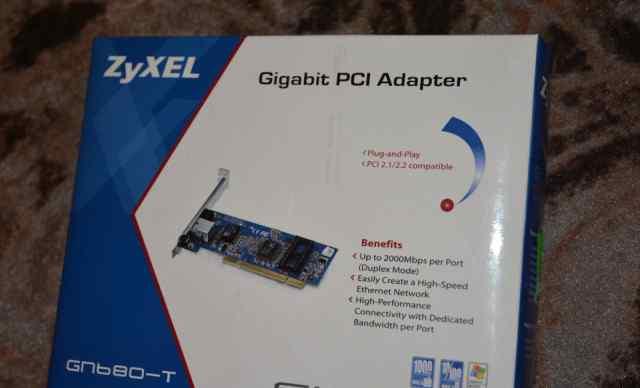 Zyxel GN-680-T Сетевая карта, PCI Gigabit Ethernet