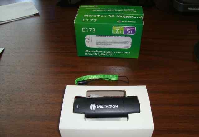 3G модемы - Е173 Мегафон, Е171 МТС