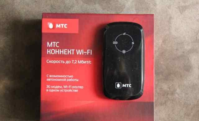 МТС Коннект Wi-Fi роутер, 3G модем