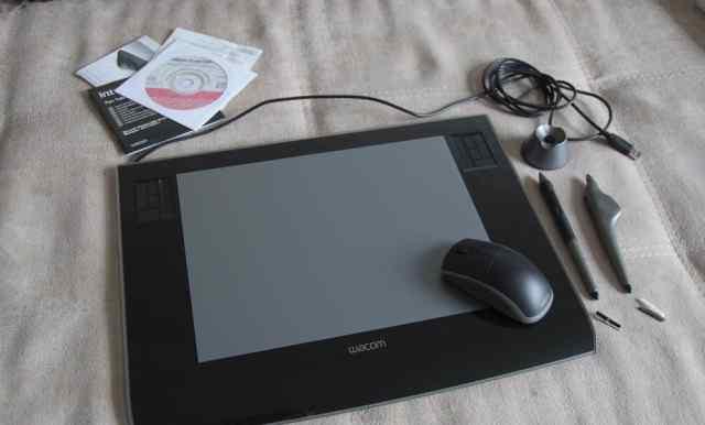 Графический планшет Wacom Intuos-3 A4