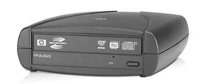 Внешний привод super multi dvd writer HP DVD840