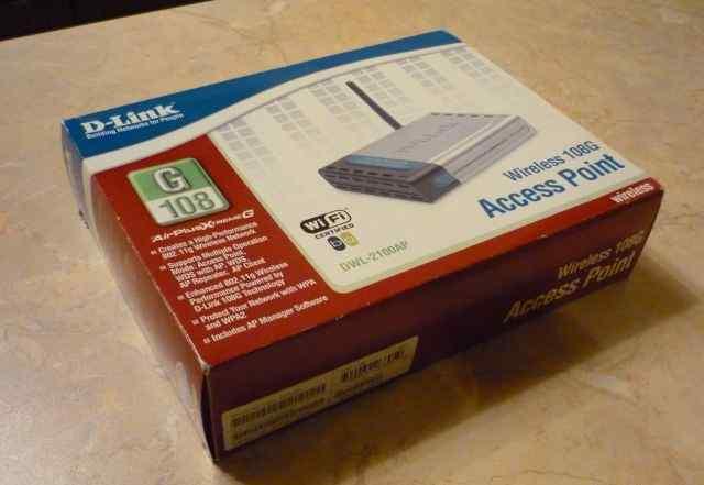 Продаю Wi-Fi-точку доступа D-link DW (новый)