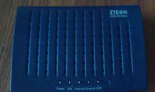 Adsl роутер ZTE zxdsl 831A II (МГТС)