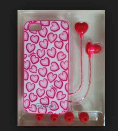 Кейс с наушниками для iPhone 5 или 5S фирма