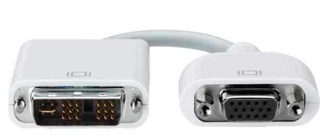 Apple переходник DVI VGA
