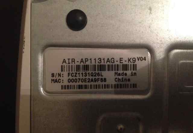 Точка доступа Cisco Access Point AIR-AP1131AG-E-K9