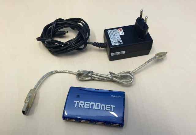 USB хаб 7 портов Trandnet TU2-700