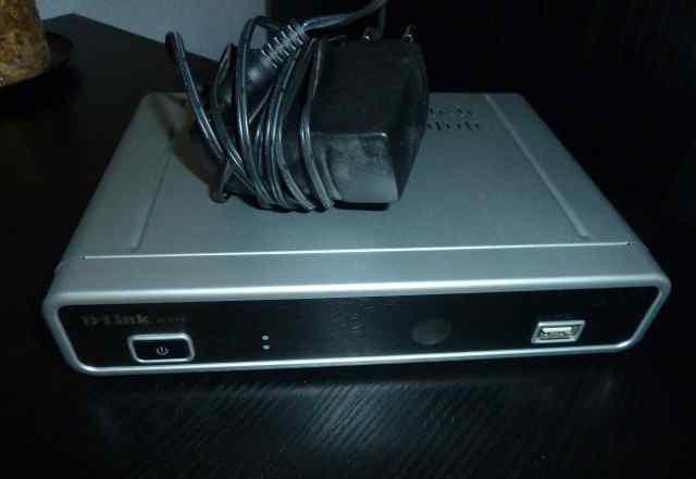 Телевизионная IP приставка Dlink D-link DIB-120