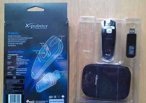 Лазерная указка для презентаций X-Pointer XP140