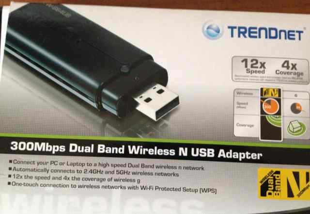 USB WiFi адаптер Trendnet 300Mbps