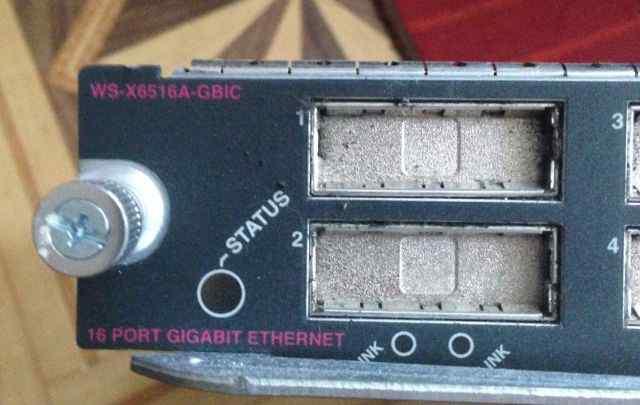 Модуль Cisco WS-X6516A-gbic