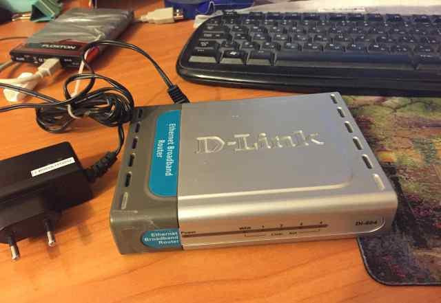 Роутер Dlink DL 604