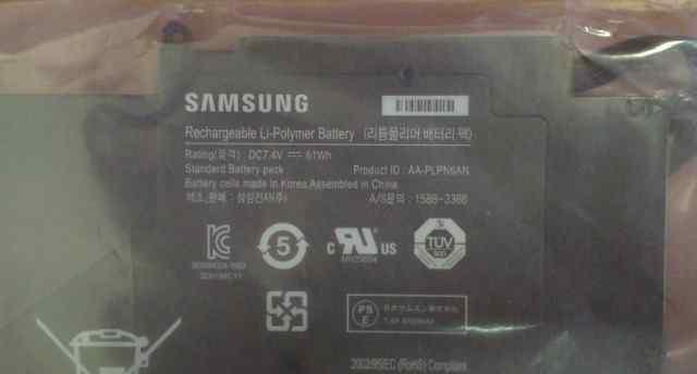 Аккумулятор AA-plpn6AN новый
