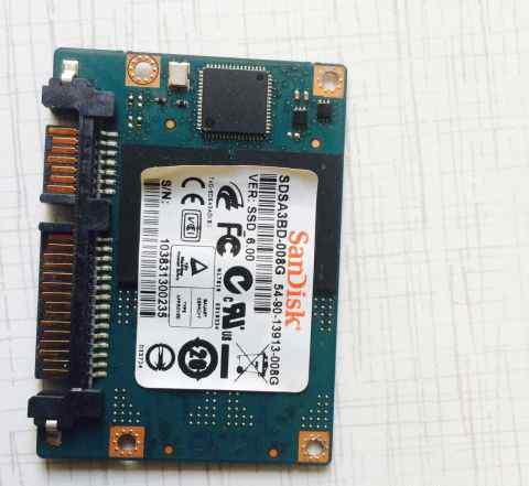 SSD SanDisk 8 Gb