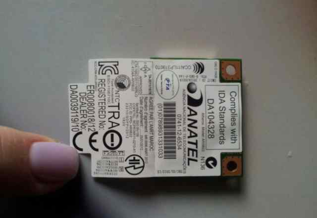Модуль wi-fi mini- PC-E atheros AR5B22 / 802.11n