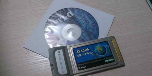 D-Link AirPro DWL-A650 Wireless Cardbus Adapter