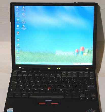 ноутбук ThinkPad A31p (сумка в подарок)